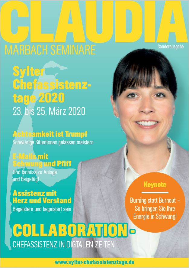 Cover Sylter Chefassistenztage 2020