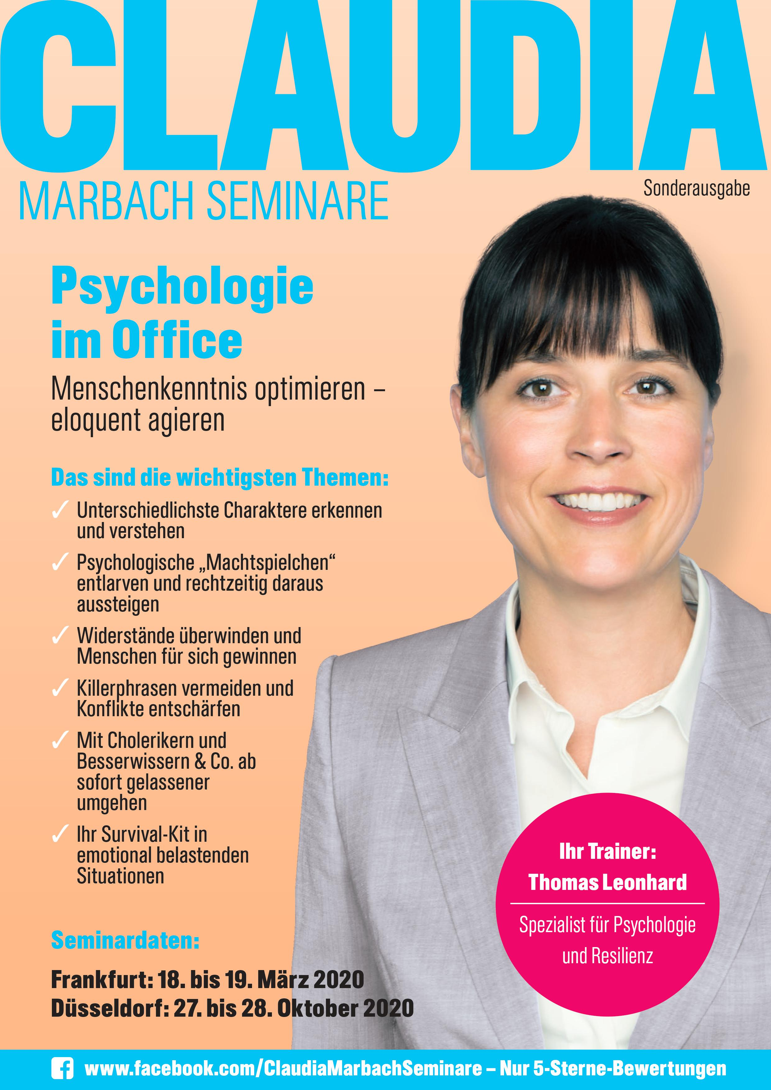 Cover Psychologie im Office